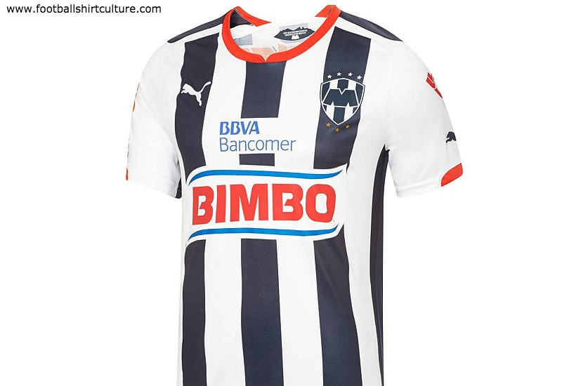 Cf Monterrey 2014 2015 Home Puma Football Shirt