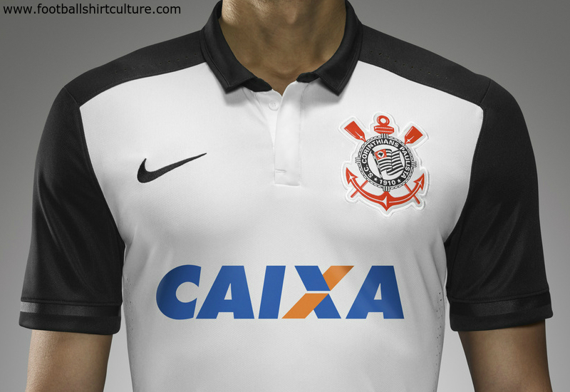 Corinthians 2015 2016 Nike Home Football Shirt