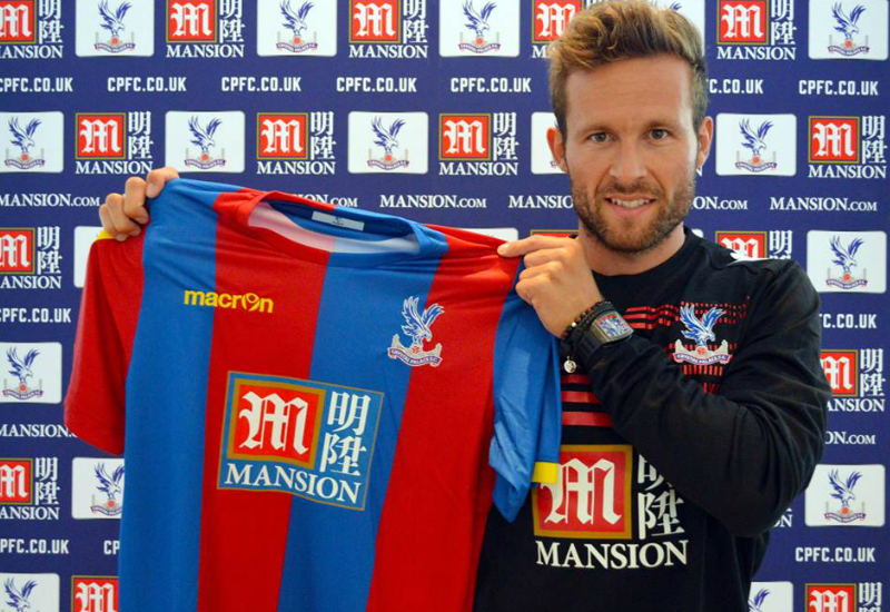 Crystal Palace Announce Mansion Group Shirt Sponsor Deal
