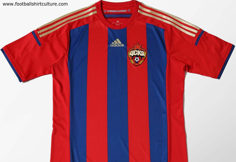Cska Moscow 2014 15 Adidas Home Football Shirt