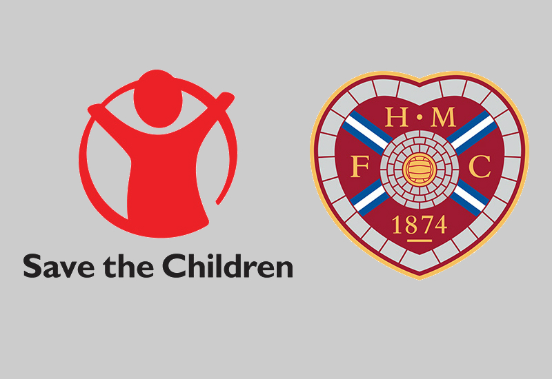 Heart Of Midlothian Announce Save The Children Shirt Sponsorship