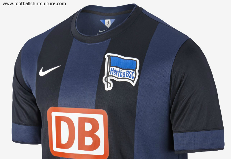 Hertha Berlin 2014 2015 Nike Away Football Shirt 784566ec9