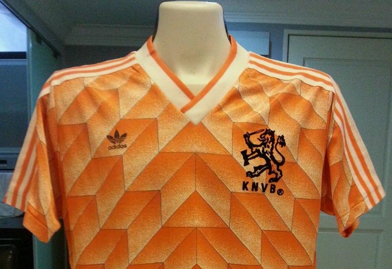 78474459e5c Holland Euro 88 Adidas Home Player Issue Shirt
