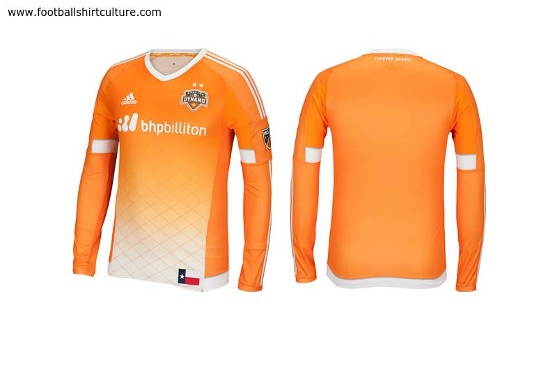 pretty nice aca84 b2f07 Houston Dynamo 2015 Adidas Home Football Shirt | 15/16 Kits ...