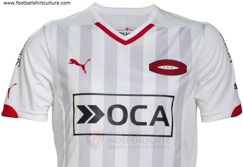Independiente 2014 2015 Puma Away Football Shirt