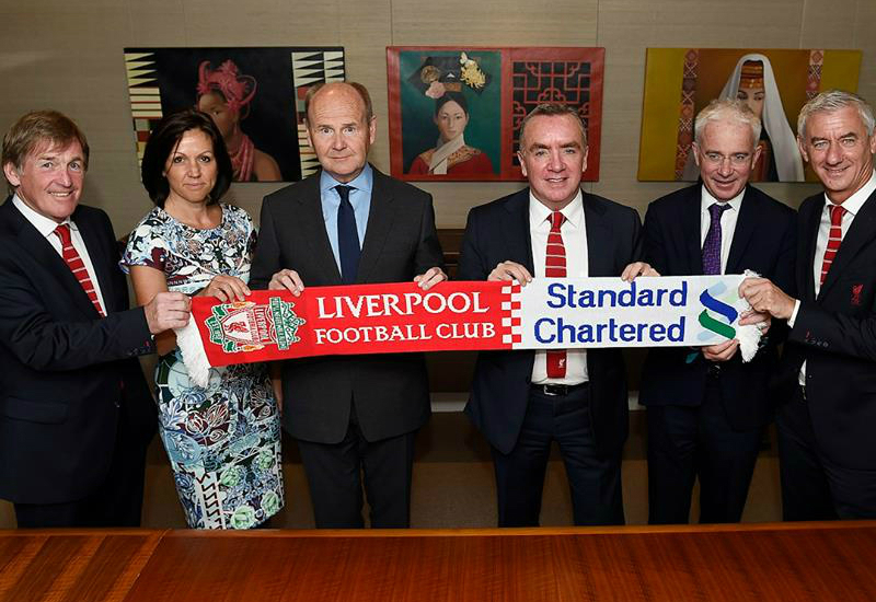 Liverpool And Standard Chartered Extend Shirt Sponsor Deal