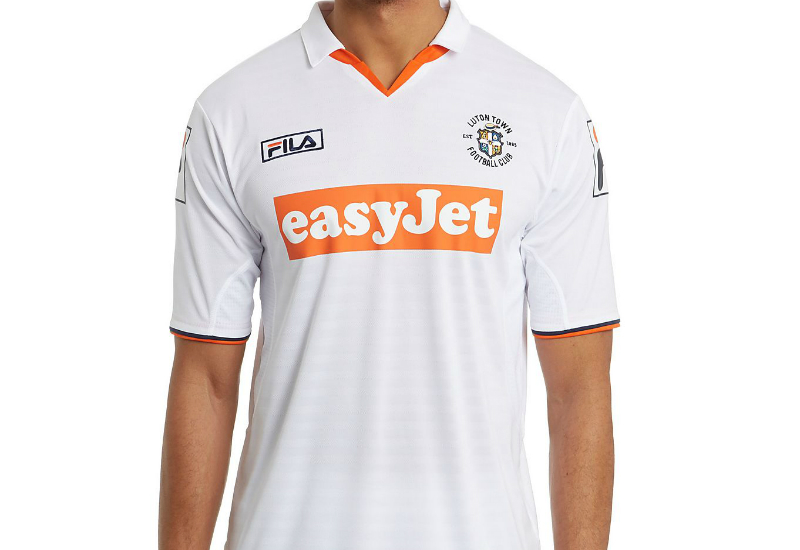 Luton Town 2014 2015 Fila Third Football Shirt