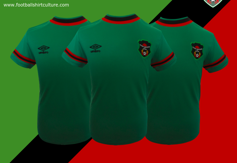 Malawi 2014 15 Umbro Away Football Shirt