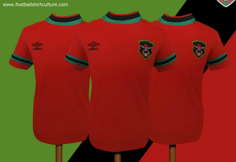 Malawi 2014 2015 Umbro Home Football Shirt