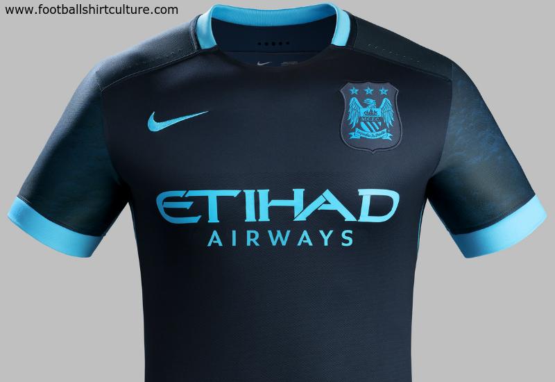 d68263324 Manchester City 15/16 Nike Away Kit   15/16 Kits   Football shirt blog