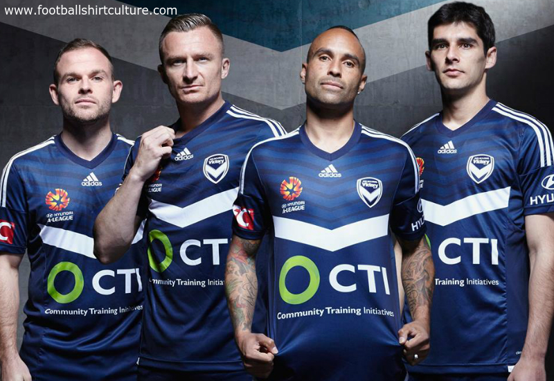 Melbourne Victory 2015 2016 Adidas Home Football Shirt
