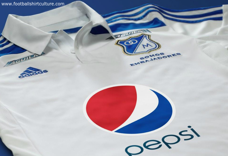 Millonarios 2014 2015 Adidas Away Football Shirt