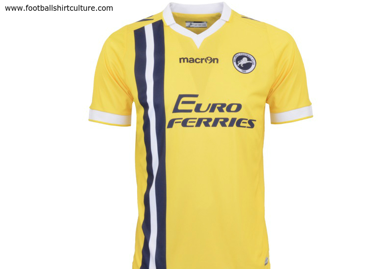 Millwall 2014 15 Macron Away Football Shirt