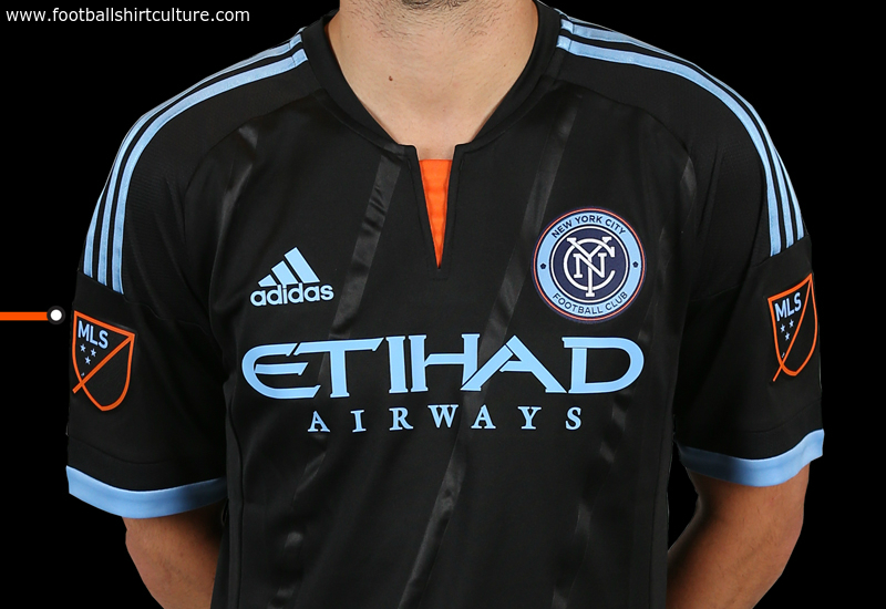 New York City Fc 2015 Adidas Away Football Shirt