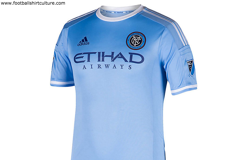 New York City Fc 2015 Adidas Home Football Shirt