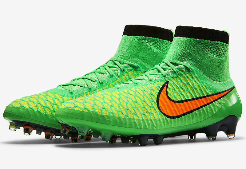 Nike Magista Obra Fg Boots Poison Green Black Total Orange