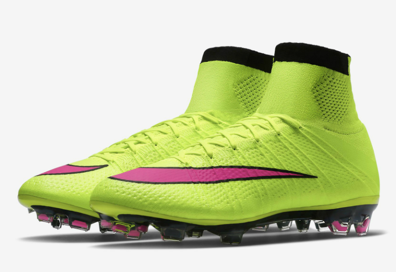 Nike Mercurial Superfly Fg Boots Volt Black Hyper Pink