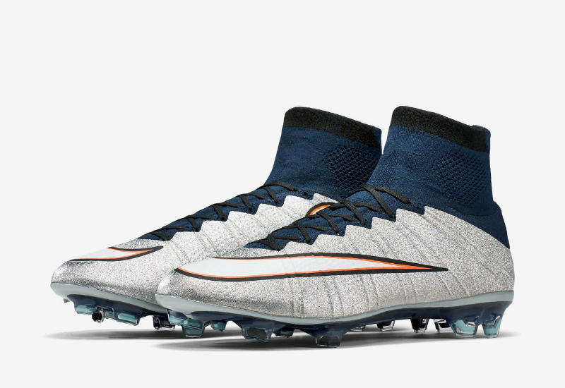 Nike Mercurial Superfly Fg Cr7 Boots Metallic Silver Hyper Turquoise Dark Obsidian White