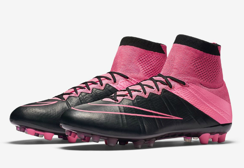 Nike Mercurial Superfly Leather Ag R Tech Craft Black Hyper Pink Pink Pow Black