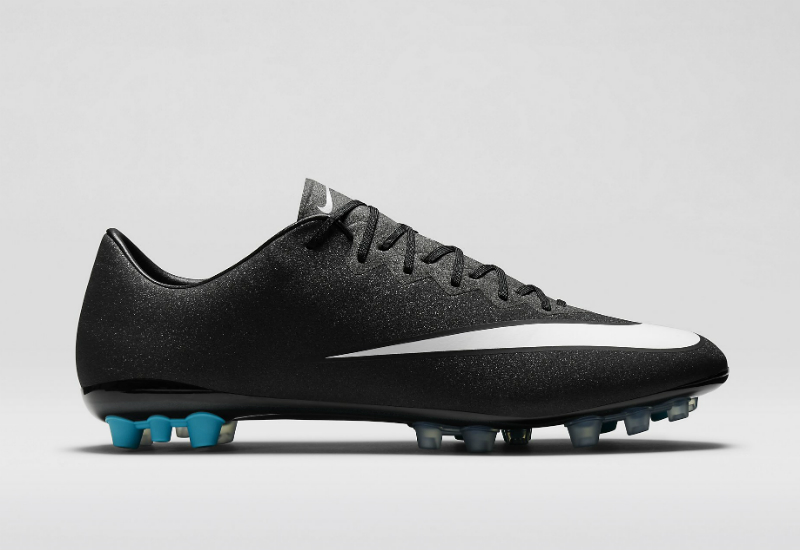 Nike Mercurial Vapor X Ag Cr7 Black Neo Turquoise Space Blue White