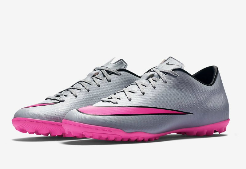 Nike Mercurial Victory V TF - Wolf Grey   Black   Hyper Pink ... 3208a1487