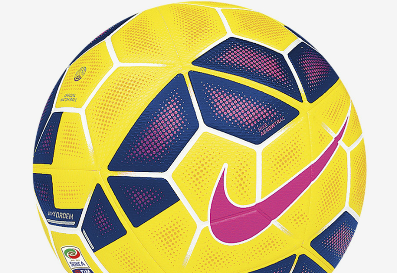 nike ordem 2 hi vis serie a match ball yellow purple pink pink equipment football. Black Bedroom Furniture Sets. Home Design Ideas