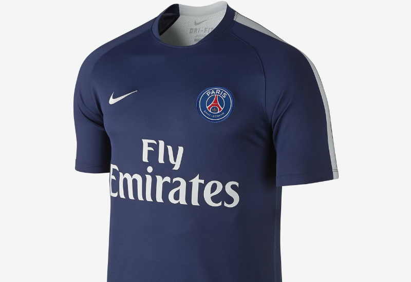best service 8f18b 6e6b0 Nike Paris Saint-Germain Pre-match 2 - Midnight Navy / White ...
