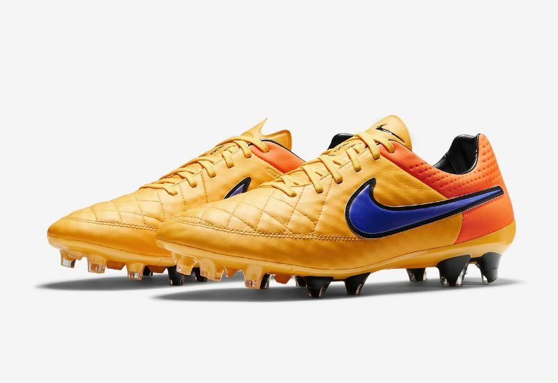 Nike Tiempo Legend V Fg Intense Heat Pack Laser Orange Total Orange Volt Persian Violet