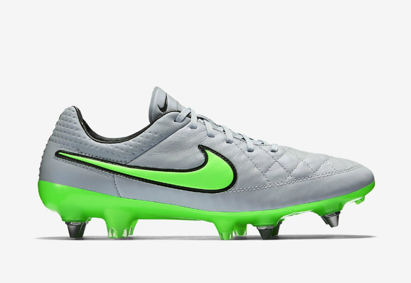 Nike Tiempo Legend V Sg-Pro Wolf Grey / Green Strike