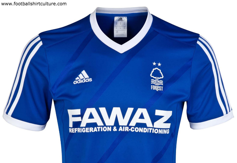 Nottingham Forest 2014 2015 Adidas Third Football Shirt