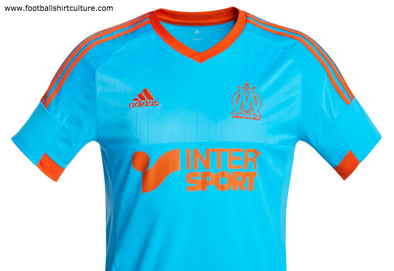 Olympique Marseille 2014 2015 Adidas 4th Football Shirt