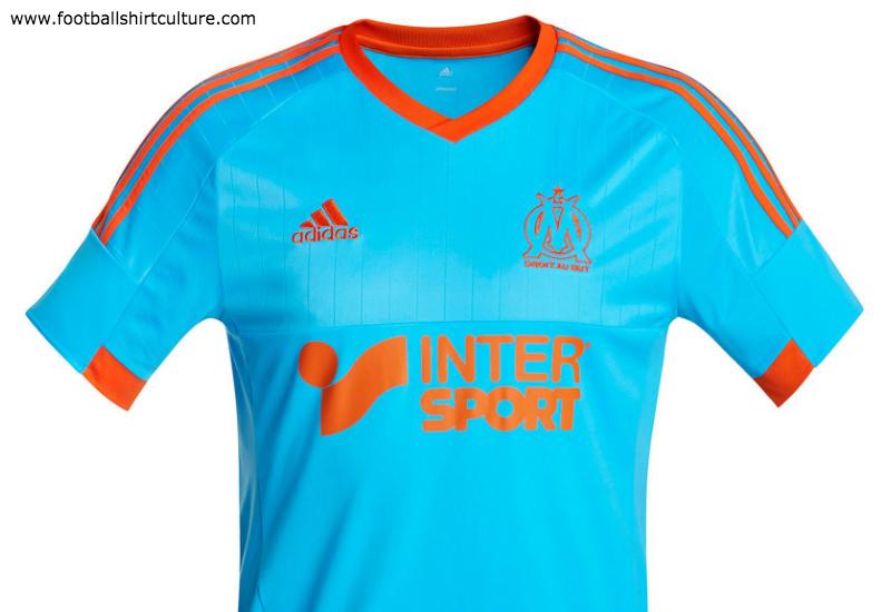 arrives 45f60 1421a Olympique Marseille 14/15 Adidas 4th Football Shirt | 14/15 ...