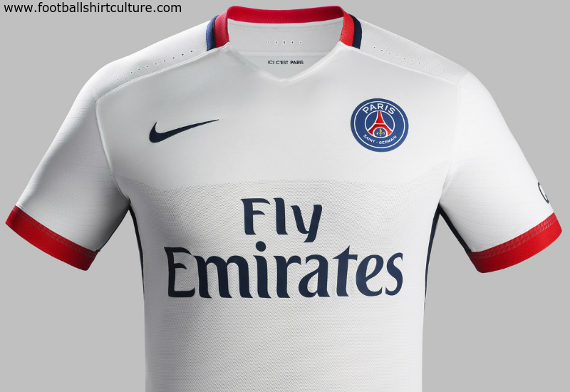 Paris Saint Germain 2015 2016 Nike Away Football Shirt a9c81ee87