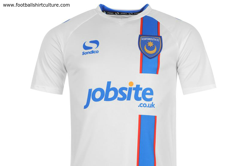 Portsmouth 2014 15 Sondico Away Football Shirt
