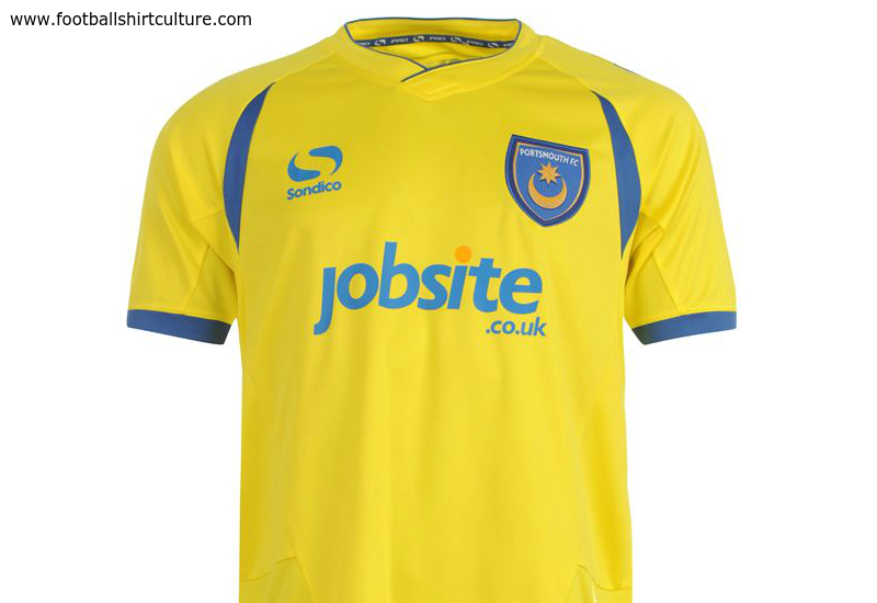 Portsmouth 2014 15 Sondico Third Football Shirt