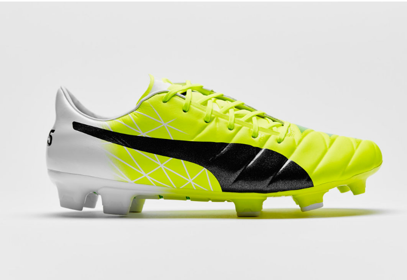 Puma Evoaccuracy 1 Fg Mb45 Football Boots Fluorescent Yellow Fluorescent Green Peacoat White