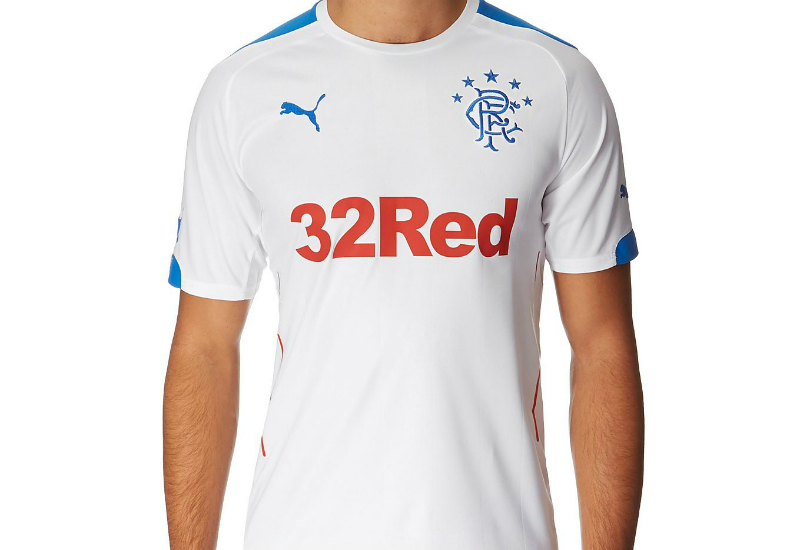 Rangers 2014 2015 Puma Away Football Shirt