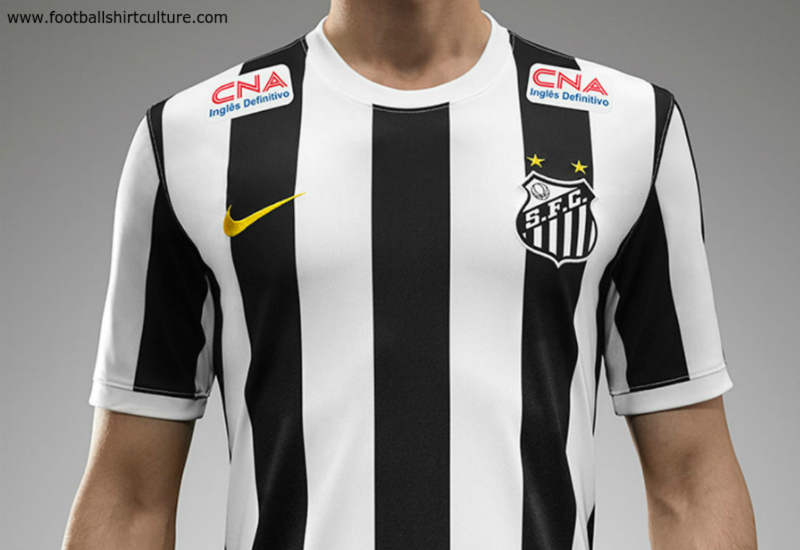 Santos 14 15 Nike Away Football Shirt