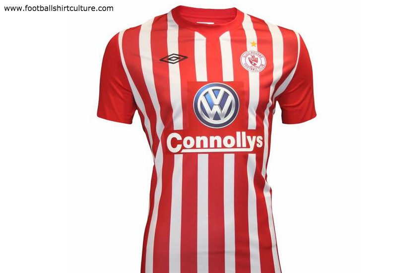 Sligo Rovers 2015 Umbro Home Football Shirt