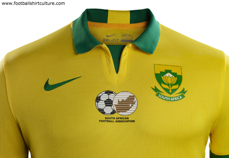 South Africa 2015 Nike Home Football Kit