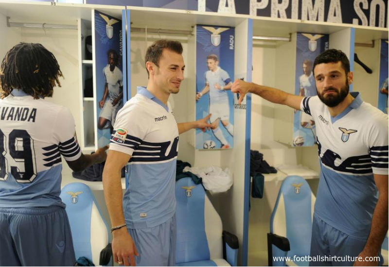 Ss Lazio 2015 Macron 115th Anniversary Football Kit
