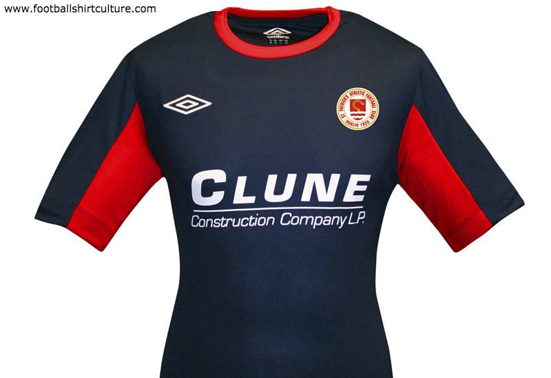 St Patricks Athletic 2015 Umbro Away Football Kit Shirt