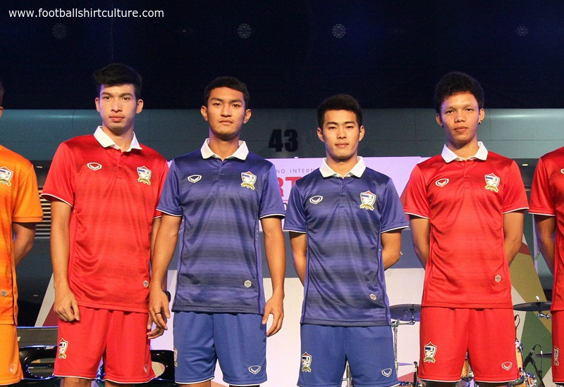 Thailand 2014 2015 Grand Sport Home And Away Kits