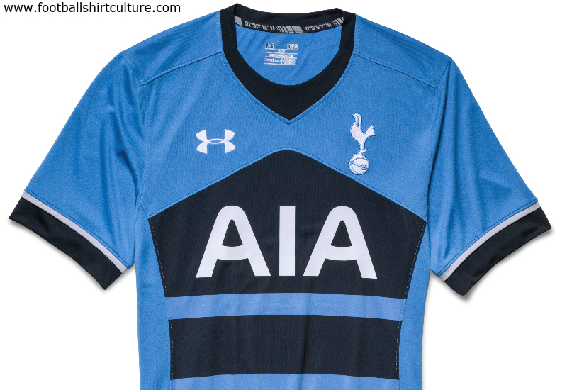 426657ca720a5 Tottenham Hotspur 15/16 Under Armour Away Kit | 15/16 Kits ...