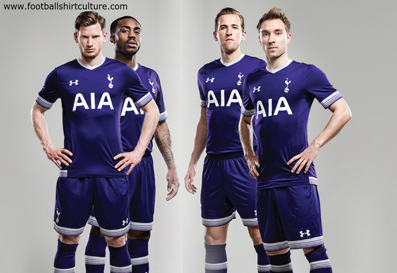 100% authentic 8ac75 1755e Tottenham Hotspur 15/16 Under Armour Third Kit | 15/16 Kits ...