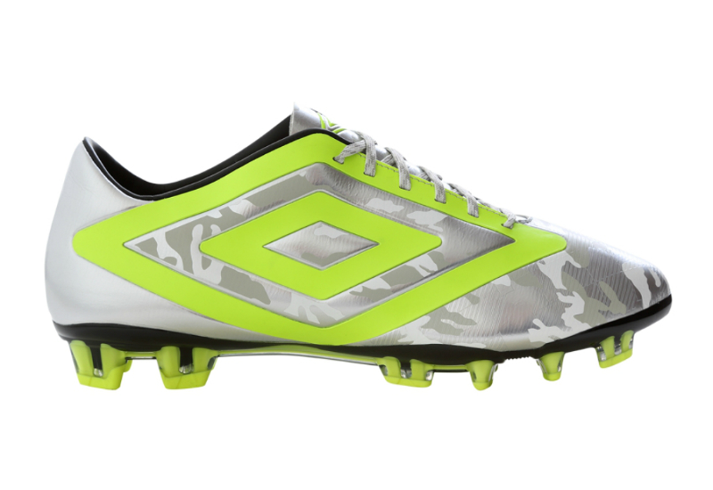 Umbro Geoflare Pro Fg Football Boots Snow Camo Safety Yellow Black