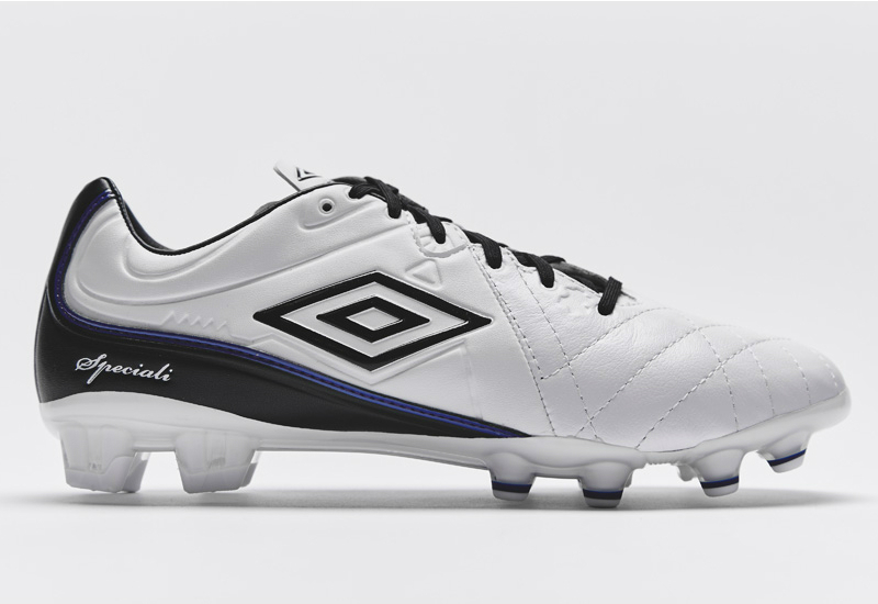 Umbro Speciali 4 Pro Hg Football Boots White Black Clematis Blue