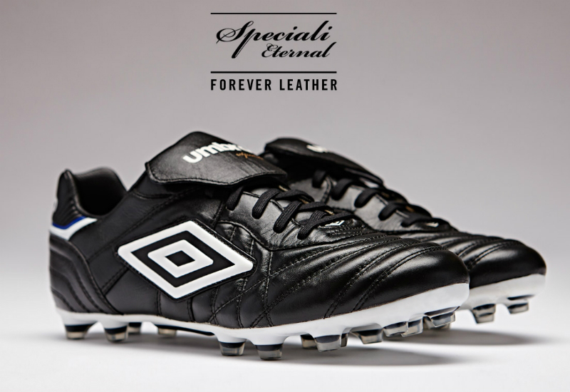 Umbro Speciali Eternal Hg Football Boot Black White Vivid Blue