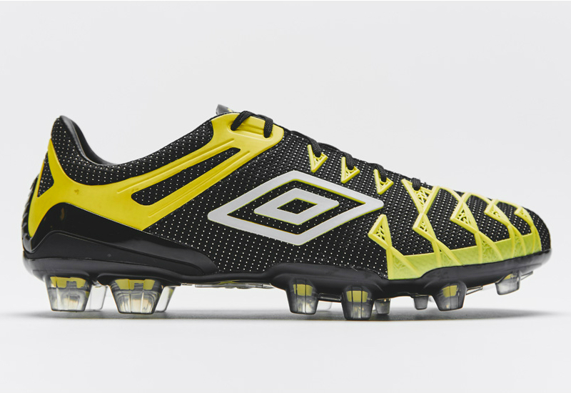 Umbro Ux 1 Concept Football Boots Black White Buttercup