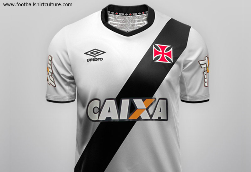 Vasco Da Gama 2014 15 Umbro Away Football Shirt